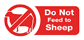 Do Not Feed to Sheep